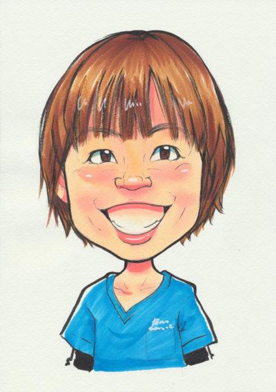 歯科技工士・衛生士 阿部 波子