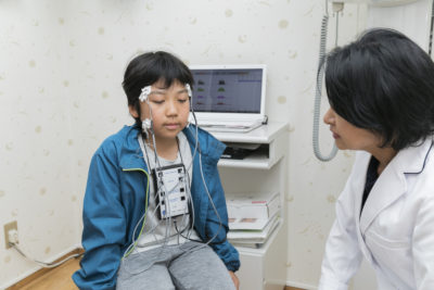 筋電図記録測定器
